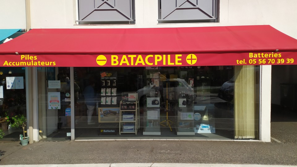 Magasin batterie pile Bordeaux